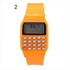 Дитячі наручні Годинники-Калькулятор ораженвые