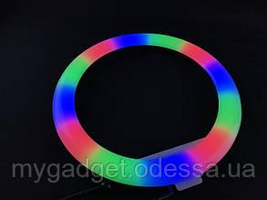 Кольцевой ргб свет   СXB RGB 30см