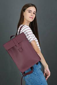 Жіночий шкіряний рюкзак Сідней, натуральна шкіра Grand колір Бордо