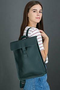 Жіночий шкіряний рюкзак Сідней, натуральна шкіра Grand колір Зелений