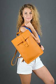 Жіночий шкіряний рюкзак Сідней, натуральна шкіра Grand колір Бруштин