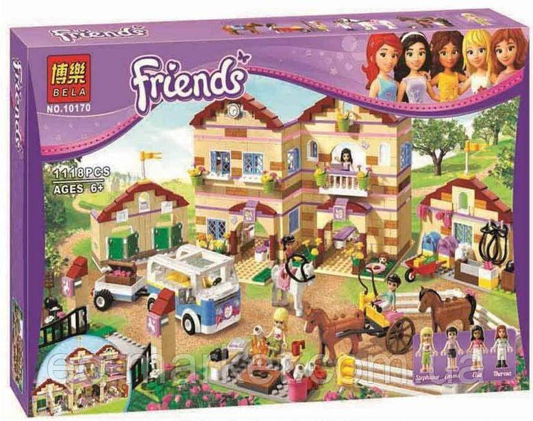 Конструктор Bela серия Friends / Подружки 10170 Летний лагерь наездников (аналог Lego Friends 3185) - Euro City Market в Киеве