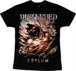 "Рок-футболка Disturbed ""Asylum"", фото 1"