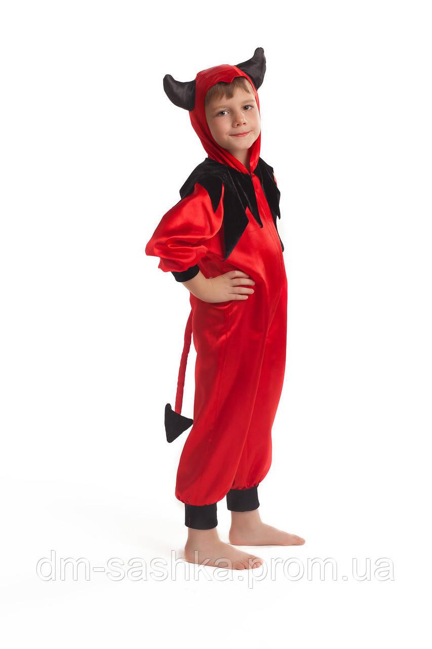 Карнавальний костюм для хлопчиків Чортеня 92р.