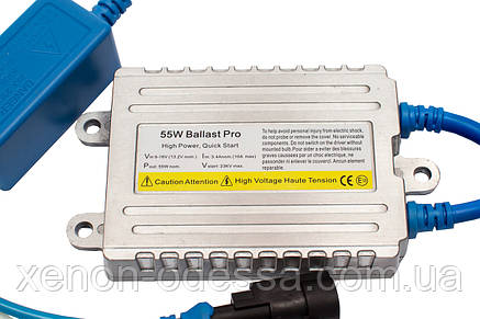 Блок быстрого розжига A512X Fast Bright Pro 55W AC Slim / балласт для ксенона, фото 2