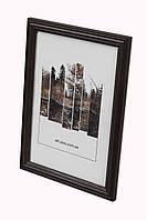 Фоторамка из дерева Дуб 2,2 см.(тёмно-коричневая). Для грамот, дипломов, серификатов. фото, вышивок.