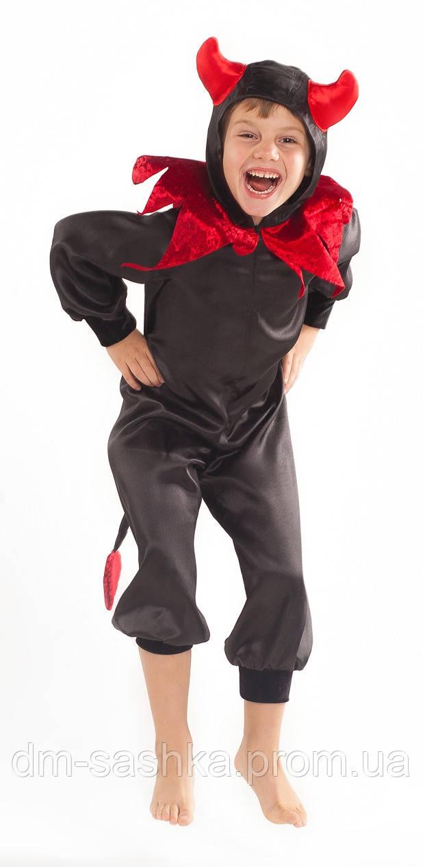 Карнавальный костюм для мальчиков на праздник Чертенок 110р.