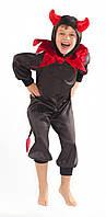 Карнавальный костюм для мальчиков на праздник Чертенок 122р., фото 1