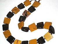 Ожерелье натуральный камень яшма