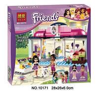 Конструктор Bela серия Friends / Подружки 10171 Спа-салон для питомцев (аналог Lego Friends 41007)