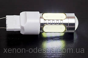 Яркий светодиод 7.5W T20 COB LED White / Белый (задний ход и подсветка поворотов), фото 2