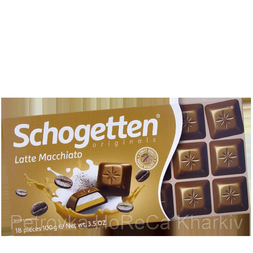 Шоколад Schogetten Latte Macchiato 1ящ/15шт
