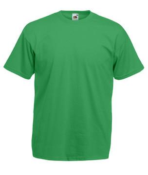 Мужская футболка однотонная зеленая 036-47