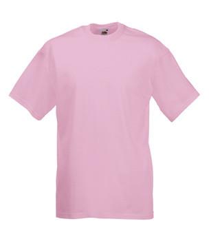 Чоловіча футболка однотонна рожева 036-52