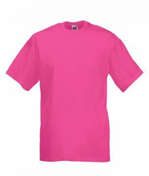 Мужская футболка однотонная малиновая 036-57