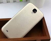 Кожаная золотая крышка для Samsung Galaxy S4