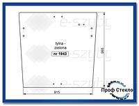 Стекло Case 595 Super LE (od 1998) Fermec 760 (od 1998), Terex TX 760-Задняя