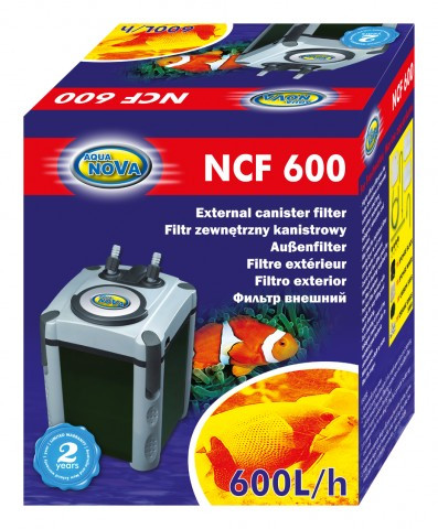 Внешний фильтр для аквариума AquaNova NCF-600 до 150л. - v-sezone в Одессе