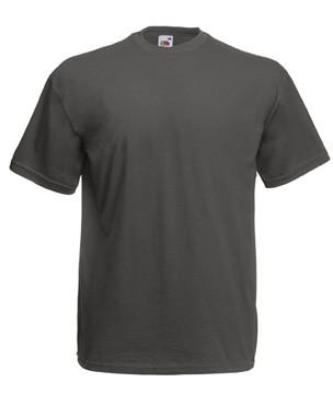 Чоловіча футболка однотонна темно-сіра 036-GL