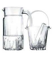 Ведро для льда (стеклянное, 13 см) Pasabahce Karat 53588