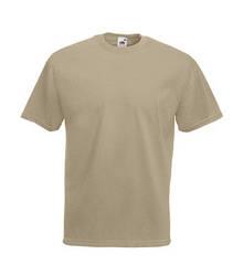 Мужская футболка однотонная хаки 036-3М