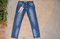 Джинсовые брюки для девочек F&D 6-16 лет
