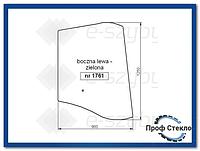 Стекло Fermec 750 760 860 865 960 965 od 1998 - Левая сторона 6099910M1