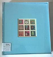 Детский  фотоальбом EVG на 50 листов  29x32 w/box  Baby синий  традиционный.