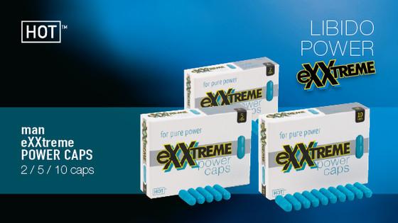 HOT eXXtreme капсулы для потенции 10 шт