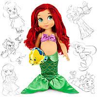 Принцесса-малышка «Ариэль» 40 см. Disney, Animators Collection