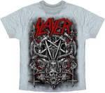 Рок-футболка Slayer (пентаграмма)