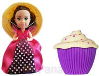 Кукла Cupcake Surprise серии Ароматные капкейки Кэйлин с ароматом винограда