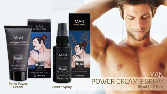 SHIATSU Спрей для мужчин MAN – POWER SPRAY 50 мл