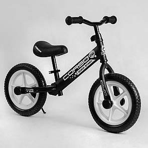 """Велобіг від Corso 05413 сталева рама, колесо 12"""" EVA (ПІНА)"""