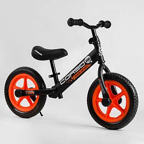 """Велобіг від Corso 06506 сталева рама, колесо 12"""" EVA (ПІНА)"""