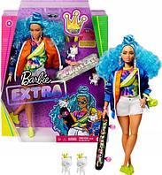Экстра-модные куклы! Barbie с питомцем EXTRA MODA + удивительные аксессуары, фото 1