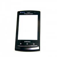 Тачскрин (сенсор) Sony Ericsson X10 Xperia с рамкой черный