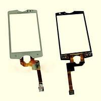 Тачскрин (сенсор) Sony Ericsson SK15i Xperia Mini 2 черный