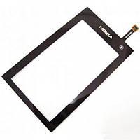 Тачскрин (сенсор) Nokia 5250 черный