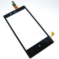 Тачскрин (сенсор) Nokia Lumia 720 черный