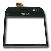 Тачскрин (сенсор) Nokia E6-00 черный
