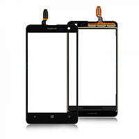 Тачскрин (сенсор) Nokia Lumia 625 черный