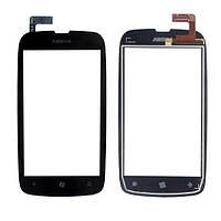 Тачскрин (сенсор) Nokia Lumia 610 черный