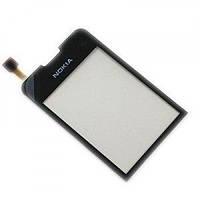 Тачскрин (сенсор) Nokia 6208 Classic черный