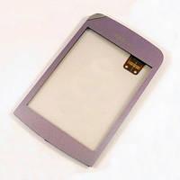 Тачскрин (сенсор) Nokia C2-02, C2-03, C2-06, C2-07, C2-08 фиолетовый
