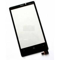 Тачскрин (сенсор) Nokia Lumia 920 черный
