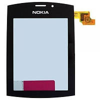 Тачскрин (сенсор) Nokia Asha 303 черный