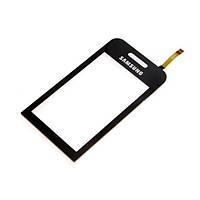Тачскрин (сенсор) Samsung S5230 Star черный