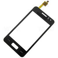 Тачскрин (сенсор) Samsung S7250 Wave M черный