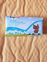 Мыло детское с маслом жожобы и ромашки Lupilu soft soap Babies and kids 90 гр